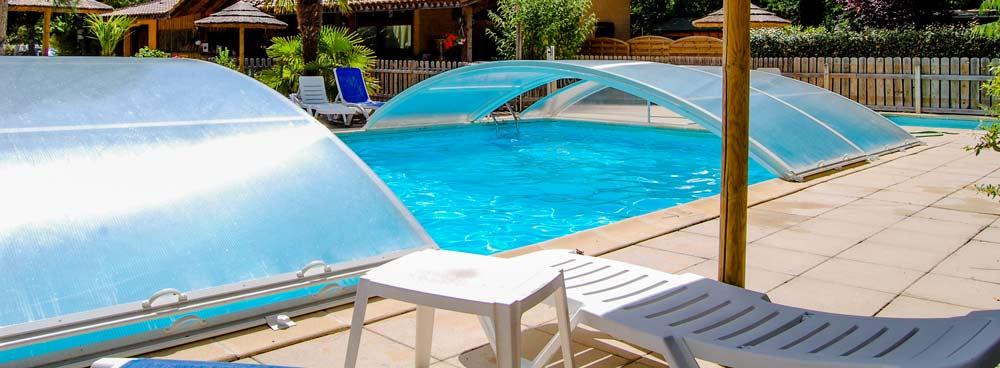 Camping avec piscine couverte Arcachon