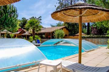 Camping piscine Arcachon