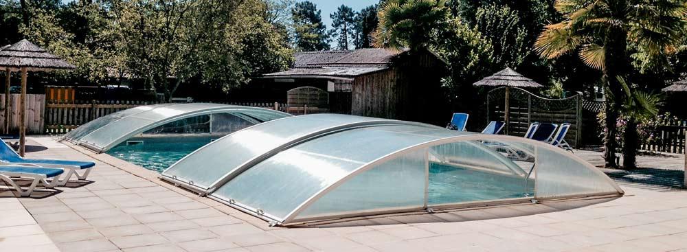 Camping piscine bassin d'Arcachon
