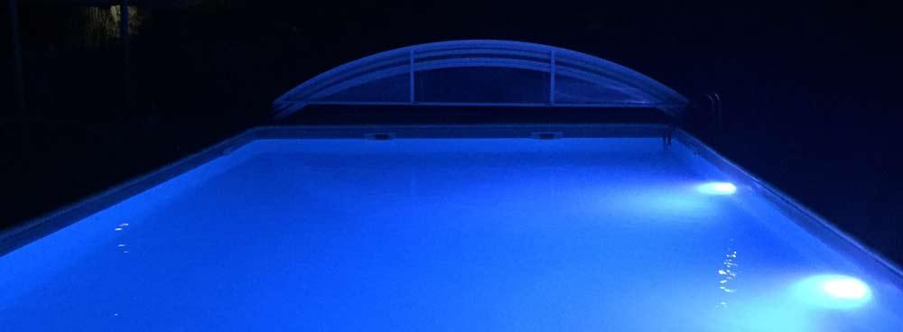 camping piscine nocturne Arcachon