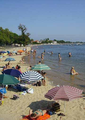 Camping plage Andernos