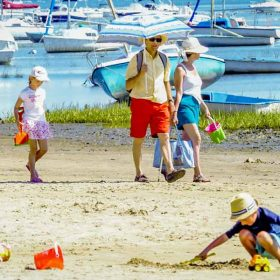 Camping plage Bassin d'Arcachon