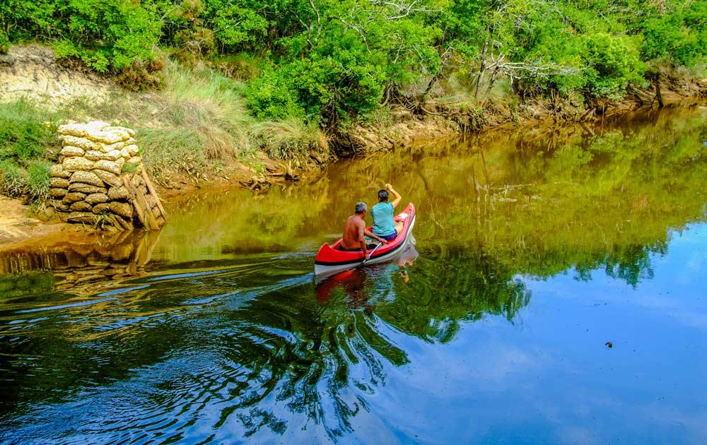 Camping rivière Arès
