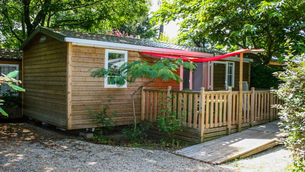 Location mobil-home PMR camping Gironde