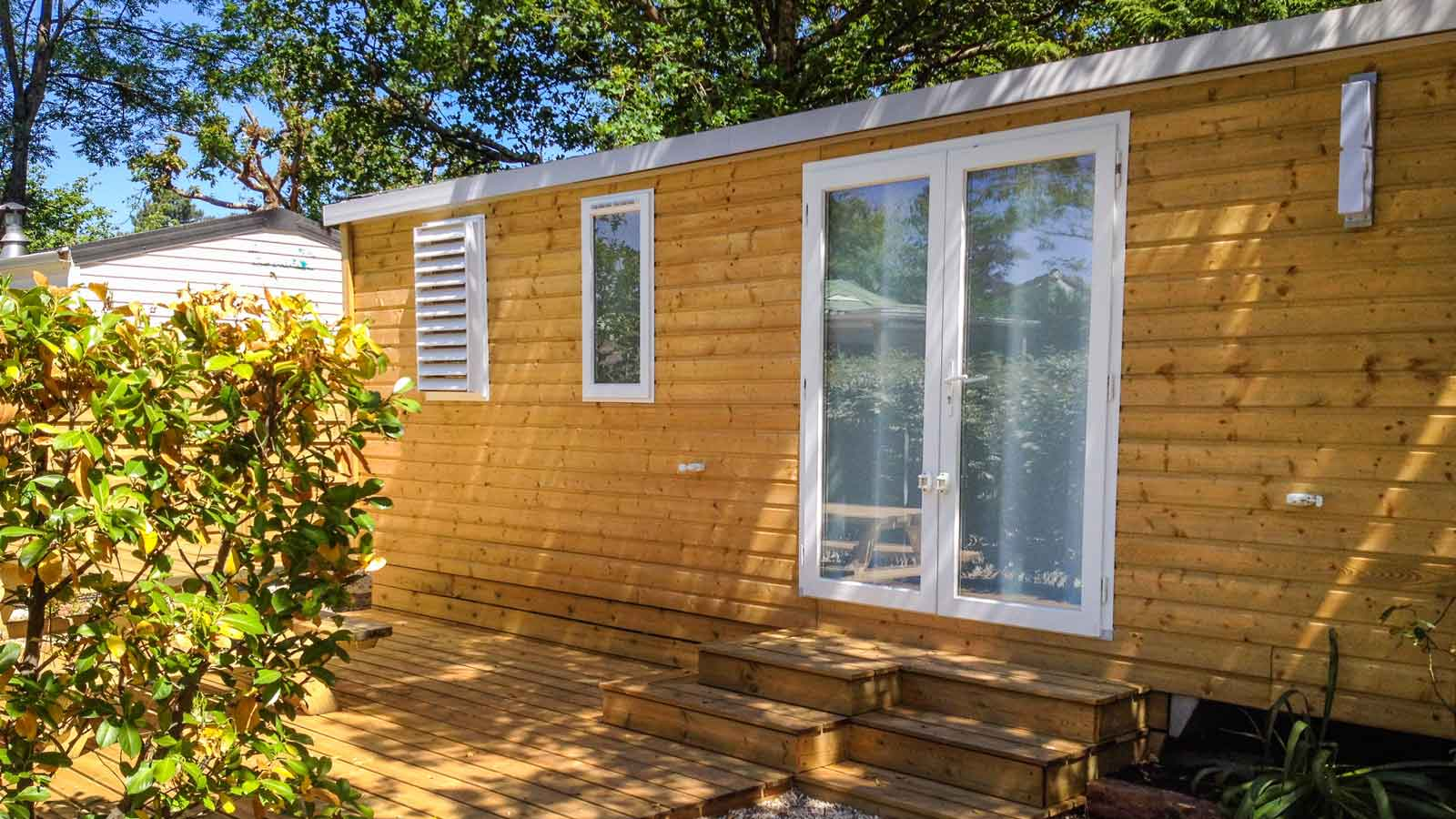 Mobil-home location Gironde