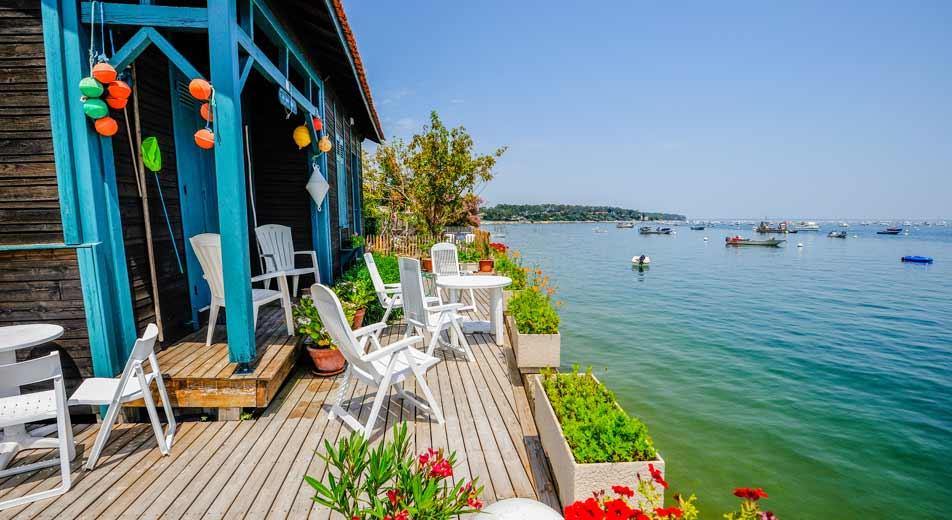 village ostréicole camping Gironde
