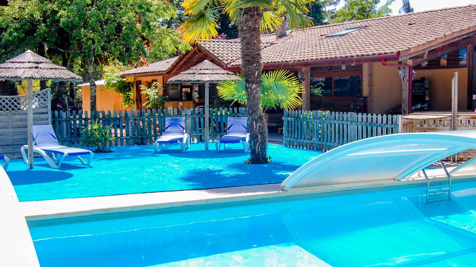 Camping arcachon location mobil home bassin d 39 arcachon - Camping bassin d arcachon piscine ...