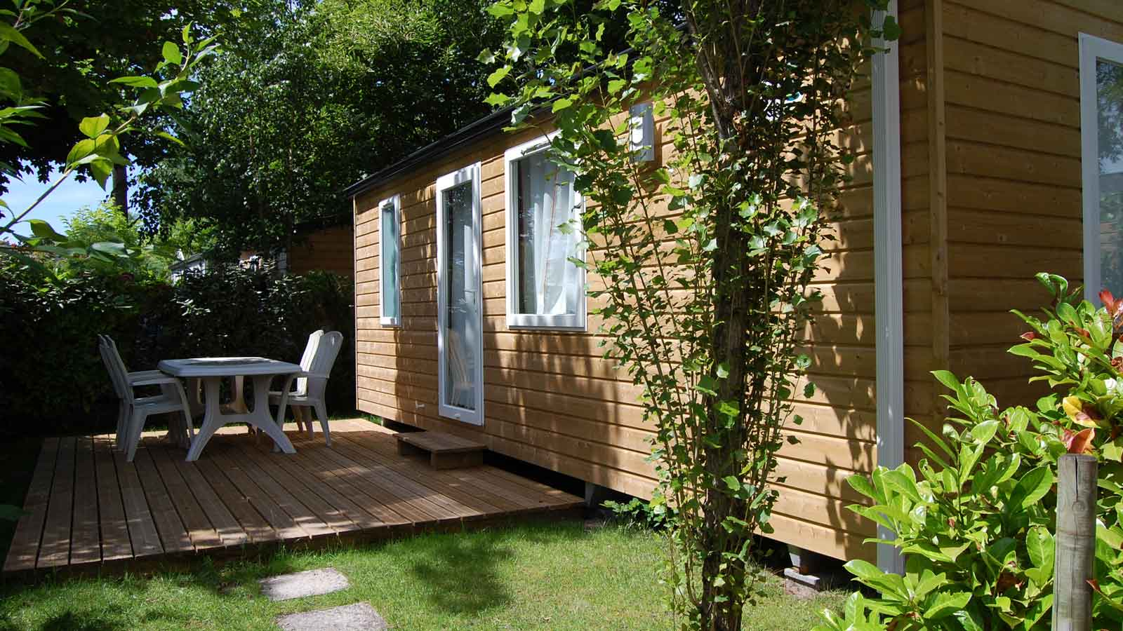 Location mobil-home camping Gironde