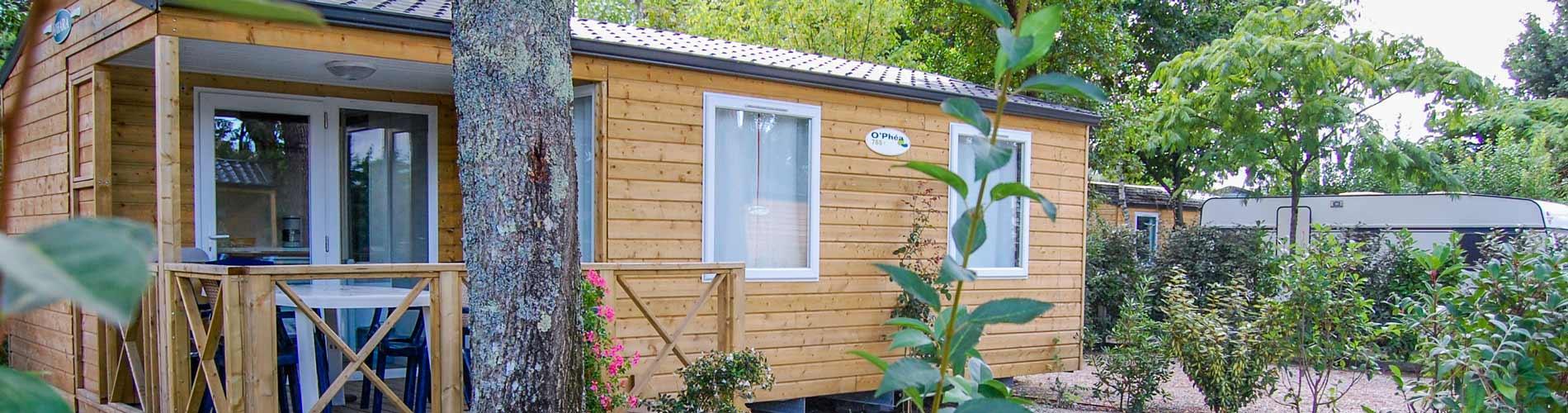 Location mobil-home Cap Ferret