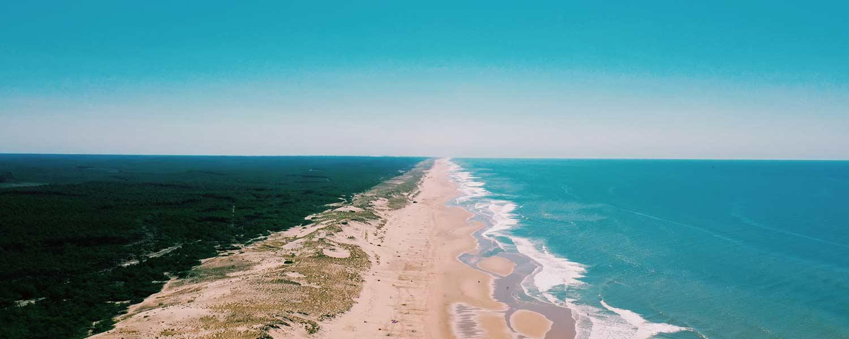 littoral et plages en Gironde